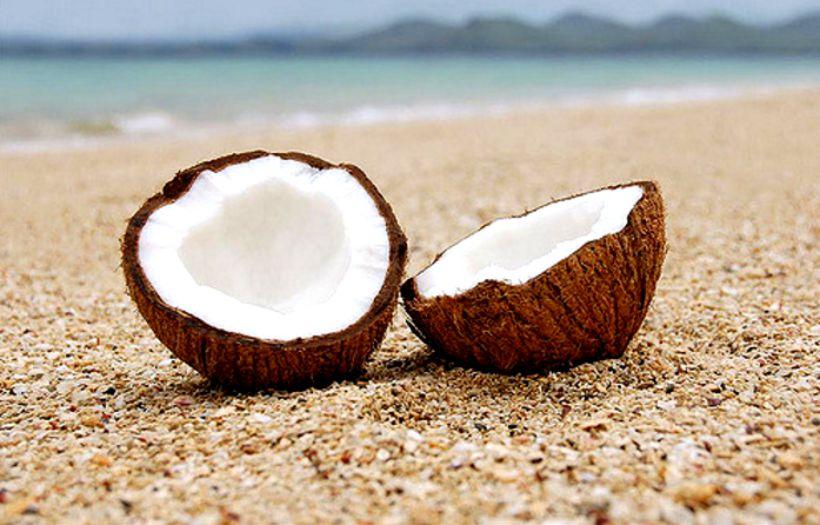olej z kokosu